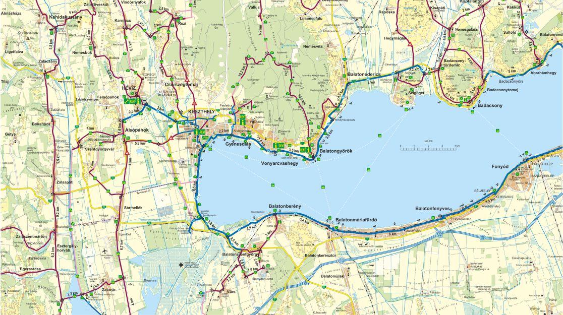 balaton gyenesdiás térkép West Balaton/ Gyenesdiás Plusz kedvezménykártya tájékoztató füzet  balaton gyenesdiás térkép